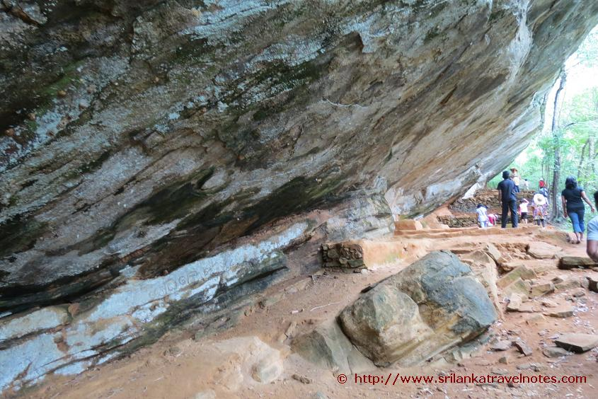 Section of the Hulan Nuge cave